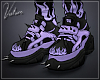 THRILLKILL Shoes Purple