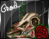 Deer Skull Pixel Art