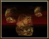 Gold Floating Lanterns