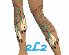 Dreamcatcher Leg Tatoo