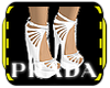 MP Fashion Heels White