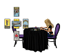 Halloween Tarot Table