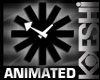 RetroAnimated BlackClock