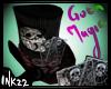 Goth Magic Hat