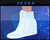 G| Pastel Blue Wedges