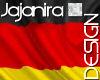 GERMAN HAND FLAG