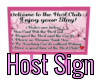 Ouran Host Sign :3