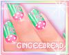 :G: Pretty Mint Nails