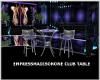 (M) PURPLE CLUB TABLE