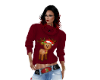 Reindeer Sweater Red