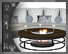 Rus: DELTA couch/firepit