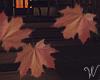 Halloween Windy Leaves