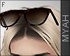 & Turtle Glasses Head