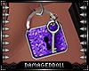 *DD* Amethyst Lock