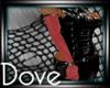 DC! Lush Gloves Rose