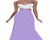 L-Lilies Lilac Gown