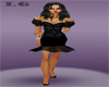 (LG)Black  Dress