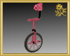 Candy Cane Unicycle