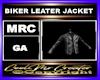 BIKER LEATER JACKET