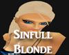 Sinfull Blonde