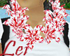 P. Red and White Lei