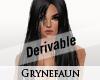 Derivable long hair 11