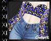 ☪ Thalia Blue Blouse