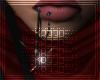 (♀) Hatchet Lip Chain