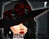 Morte Hat Black/Red .f.