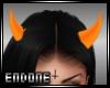 Orange horns (F)