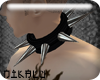 [N] Black Spike Collar