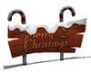 [Rex]Christmas Signpost