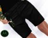 =M= Flower Summer Shorts