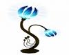 blue lotus lamp