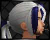 White & Purple Hair