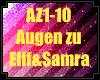 elif&samra-Augen zu
