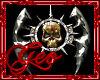 Geo Spiked Skull Axe R