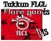 Takkun FLCL flare Pants