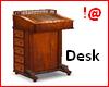 !@ Antique desk