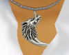 {Aaden} Wolf Necklace