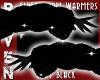 BLACK FLUFFY ARM WARMERS