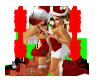 Sexys Santas Sticker
