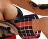 Black & Red Bracelet(R)