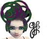 GF-Toxic Purple Who Hair