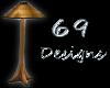 69- Wicker Lamp