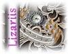 lLizl Glamour Watch gold