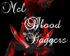 BloodRed Daggers