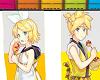 Rin/Len Summer Flag
