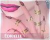 E~ Valentine's Nails