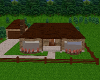 Brown Brick Ranch House